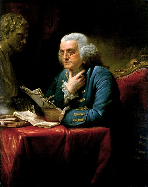 Paining of Benjamin Franklin