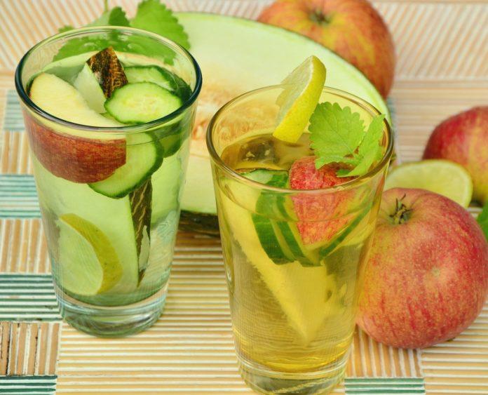 wildone forever, recipe, cucumber lemon drink