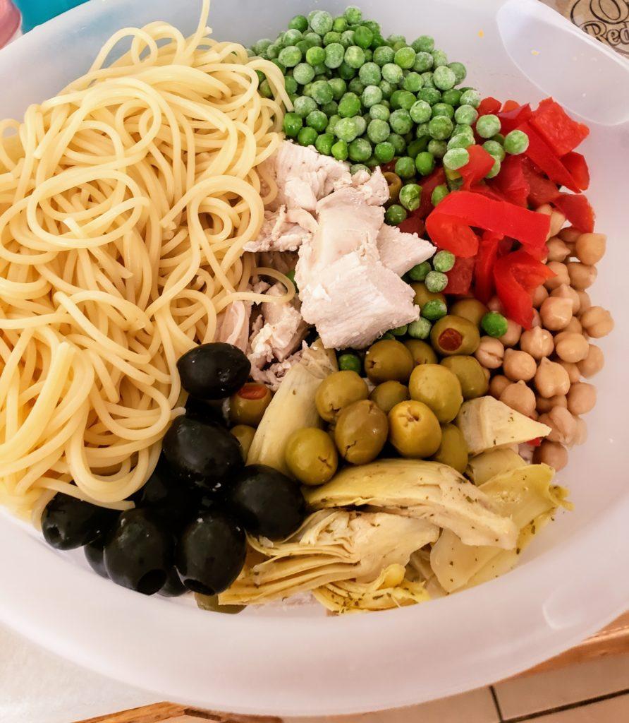 Boopa's pasta salad, recipe, Jennifer Drexler