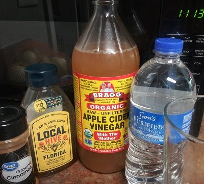 Apple Cider Vinegar drink, merej99, Meredith Loughran, health, WildOne Forever, health and fitness