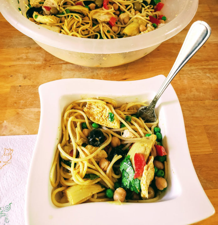 Boopa's pasta chicken salad, recipe, Jennifer Drexler