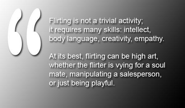 flirting, relationships, dating, Meredith Loughran, merej99