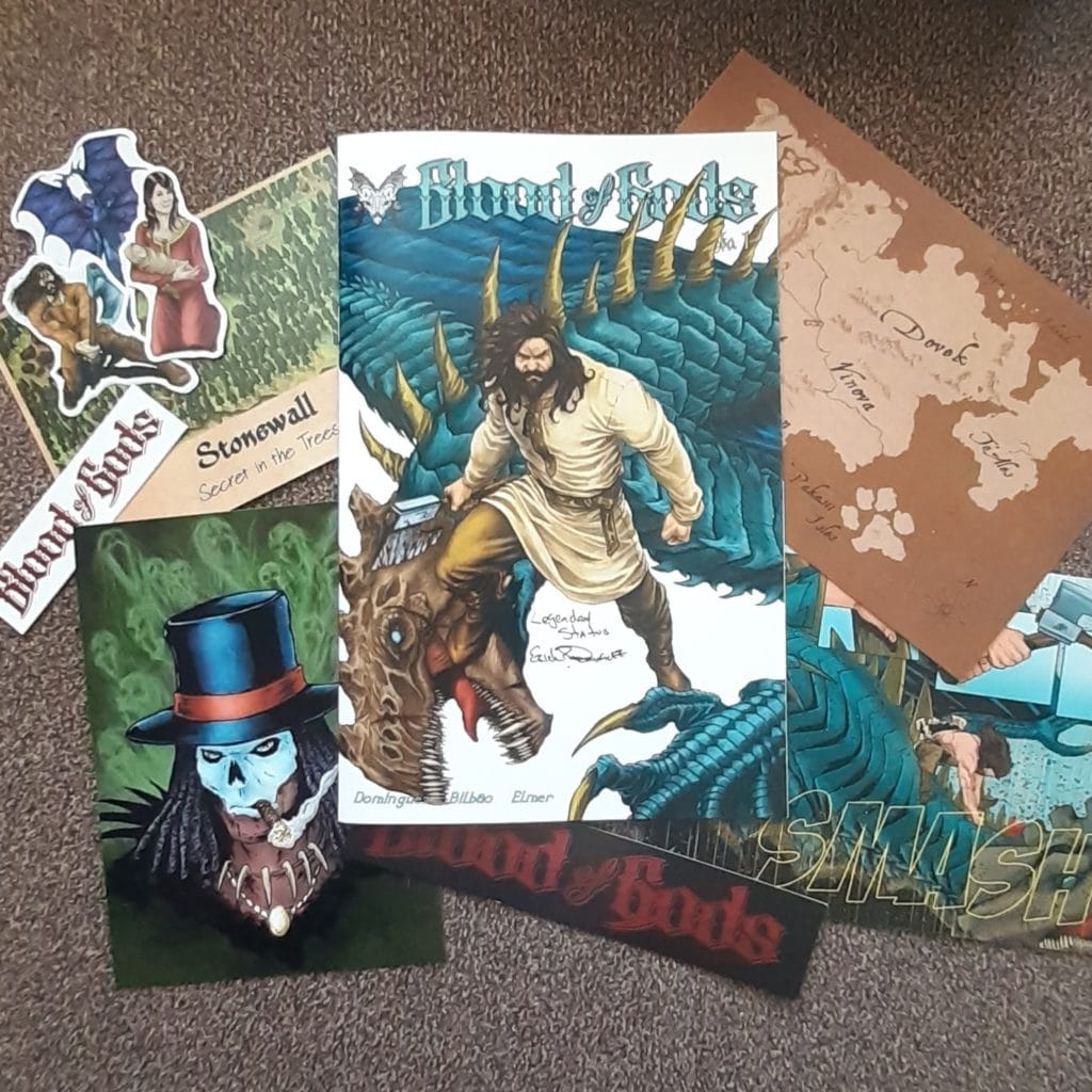 comics, comic books, package reveals, mail call, Meredith Loughran, merej99, WildOne Forever, Geek Insider