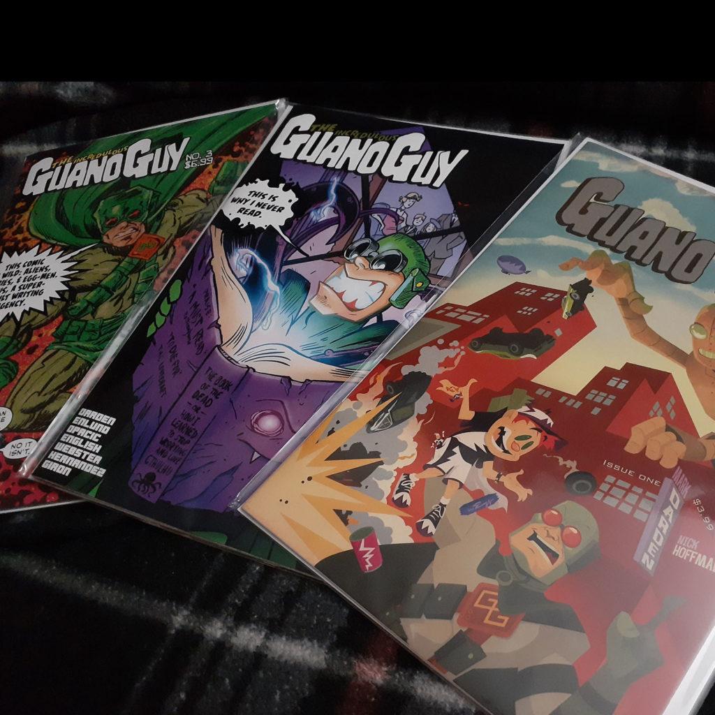 Guano Guy, comic books, Meredith Loughran, Geek Insider, WildOne Forever, Geek, merej99